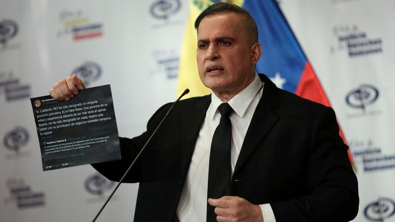 Venezuela: Putschisten wollten Maduro an USA überstellen (Video)