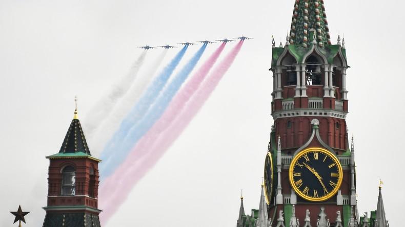 LIVE: Flugschau in Moskau zum 75. Jahrestag des Sieges im Großen Vaterländischen Krieg