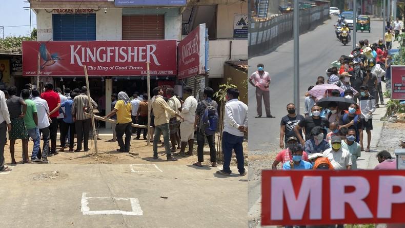 Unter den Tisch geklickt: Indische Website zum virtuellen Schnapsladen-Anstehen sofort abgestürzt