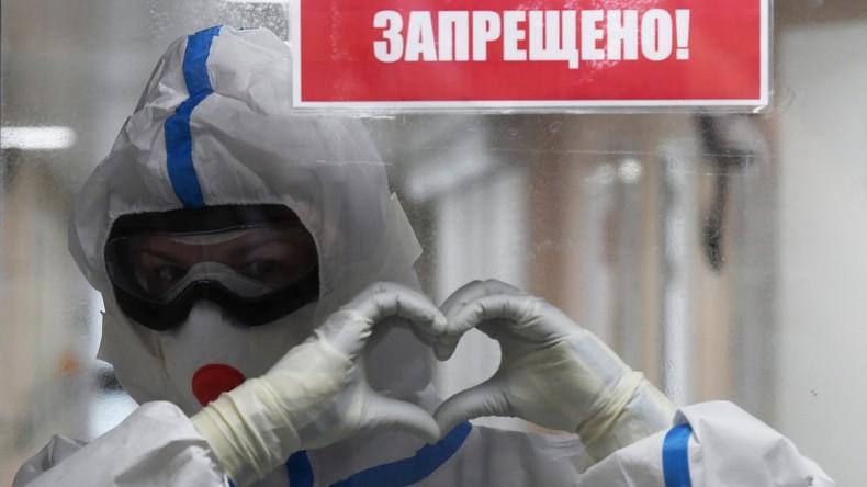 Hinter USA und Spanien: Russland auf drittem Platz bei Gesamtzahl der gemeldeten Corona-Infektionen