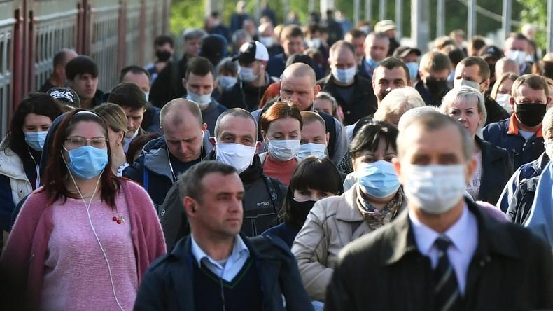 Russland belegt bei Corona-Infektionen zweiten Platz hinter den USA
