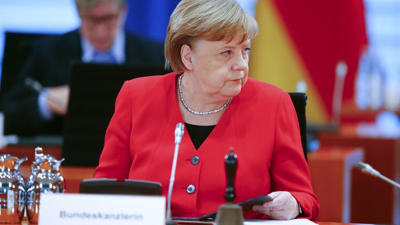 Merkel warnt laut ZDF-Bericht vor russischer Propaganda im Umfeld der Corona-Proteste