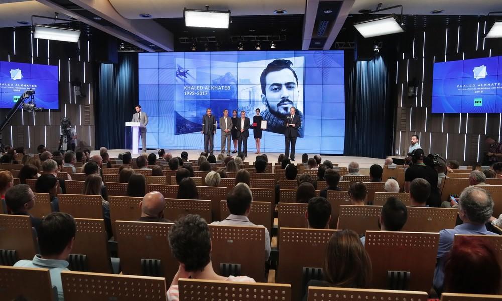 RT schreibt Wettbewerb für Kriegsberichterstattung zum Gedenken an Khaled Alkhateb aus