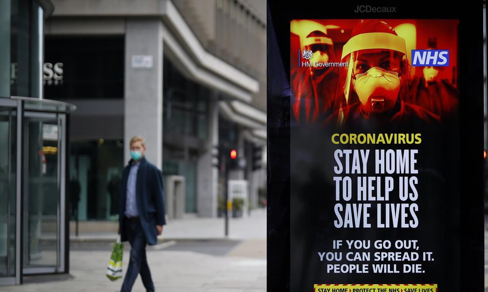 London: Bahnmitarbeiterin stirbt nach Spuckattacke an COVID-19