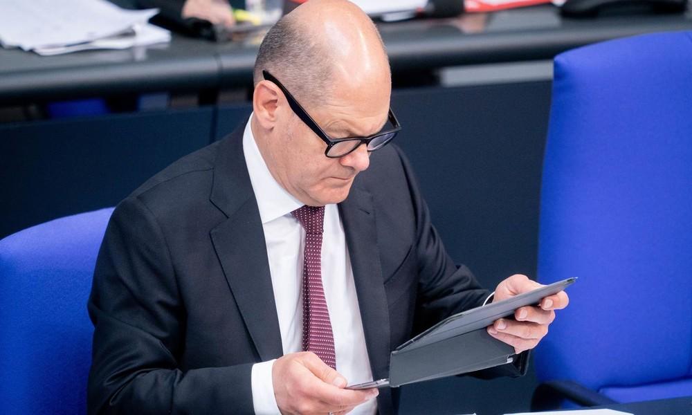 Finanzminister Scholz: Fast 100 Milliarden Euro weniger Steuereinnahmen
