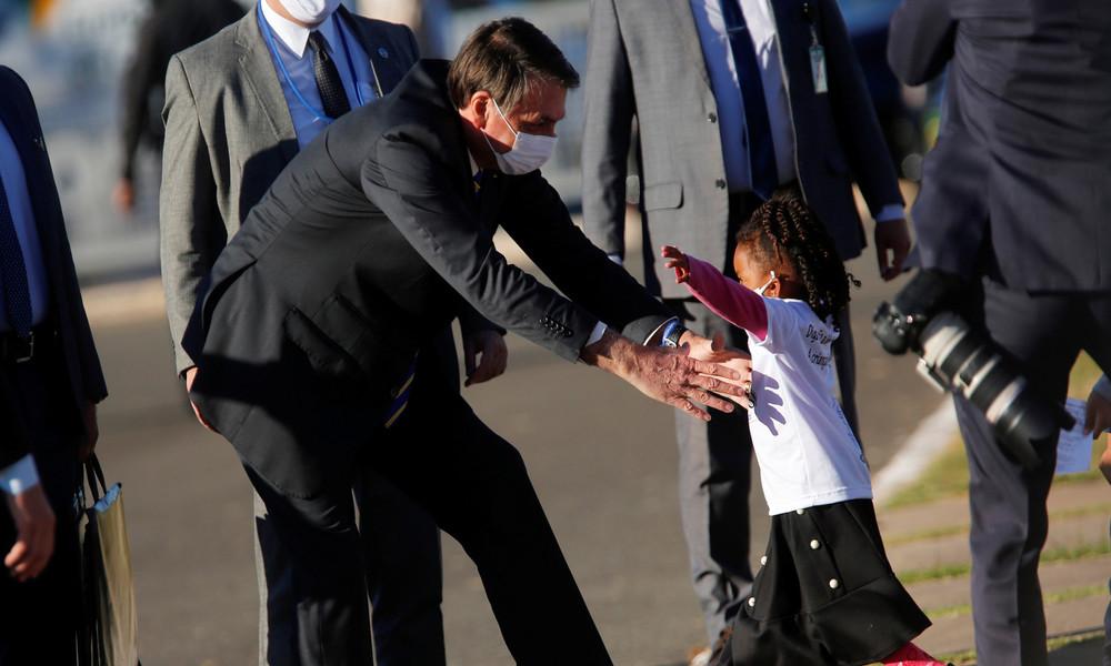 Brasilien: Instagram stuft Angaben des Präsidenten über Krankheits-Fallzahlen als Falschmeldung ein