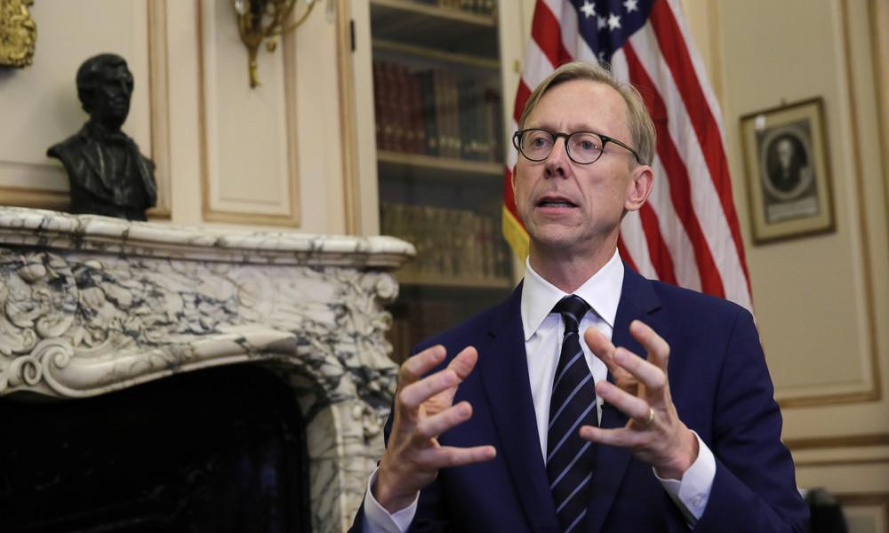US-Diplomat fordert Iran-Embargo: Nach Austritt aus Atomdeal beruft sich Washington auf Atomdeal