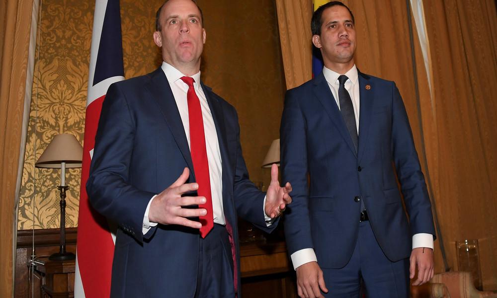 Aufgedeckt: Geheime Einheit des britischen Außenministeriums für Regime Change in Venezuela