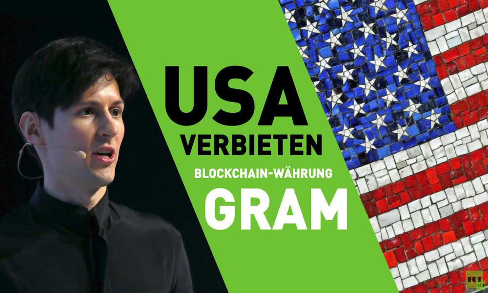 Aus Angst um den Dollar? USA verbieten weltweit Blockchain-Projekt des Telegram-Gründers Pawel Durow