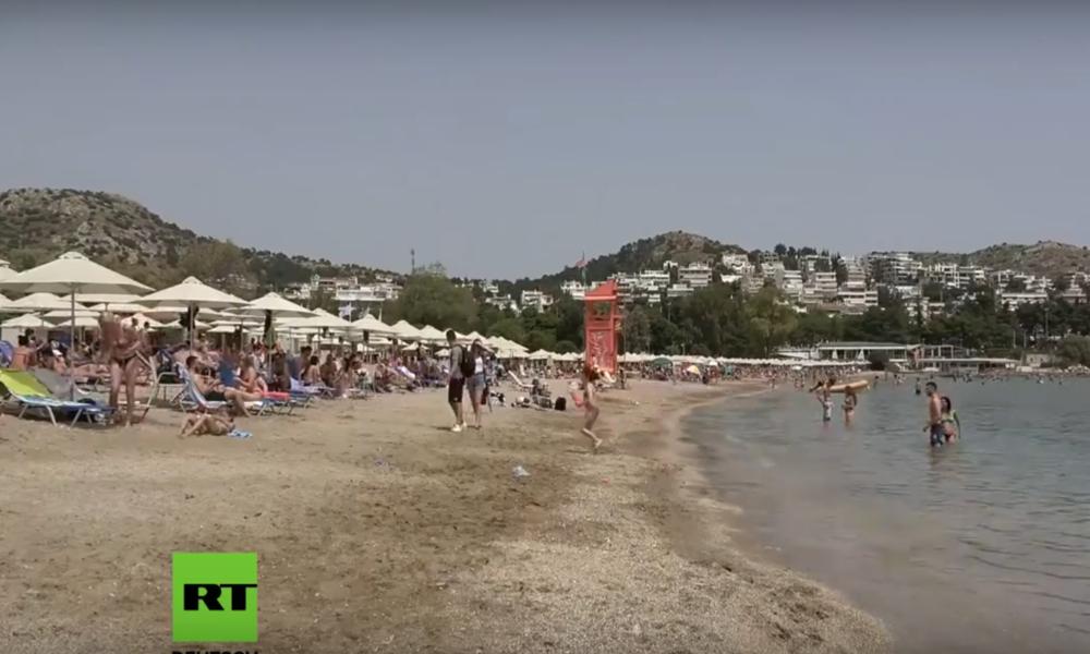Griechenland: Organisierte Strände wieder geöffnet – Hitzewelle lockt Badegäste an