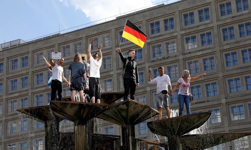 Proteste in Berlin gegen Corona-Maßnahmen