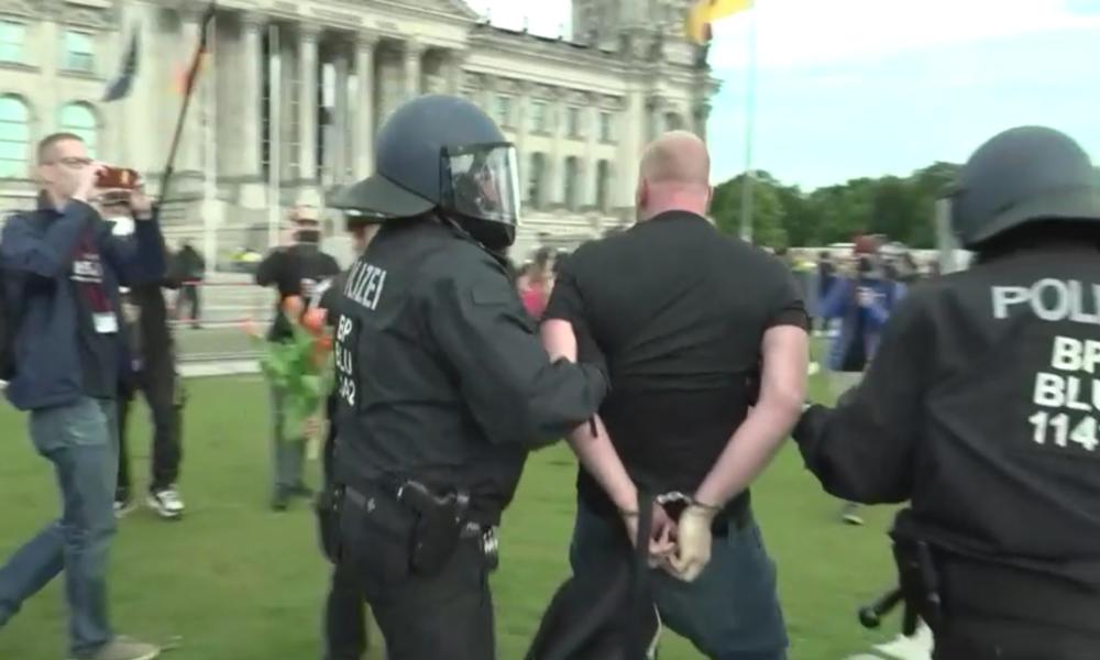 Deutschland: Erneut Festnahmen bei Protestengegen Corona-Maßnahmen