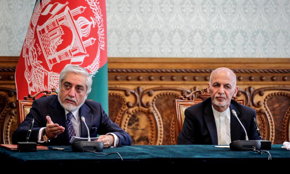 Politische Rivalen in Afghanistan vereinbaren Machtteilung