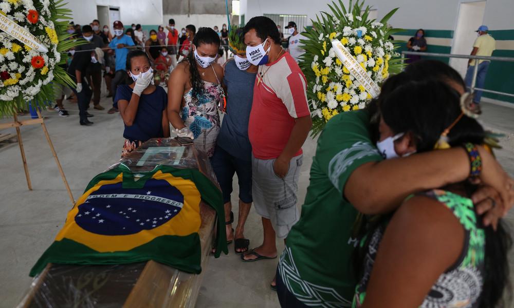 Brasilien wird zum neuen Corona-Brennpunkt – Inzwischen mehr als 16.000 Tote