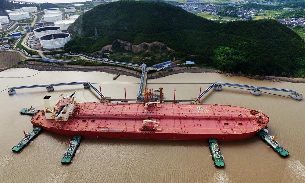 Solange es günstig ist: Flotte von 117 Tankern bringt billiges Rohöl nach China