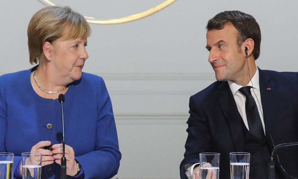 LIVE: Merkel und Macron stellen deutsch-französische Initiative für Corona-Wiederaufbau vor