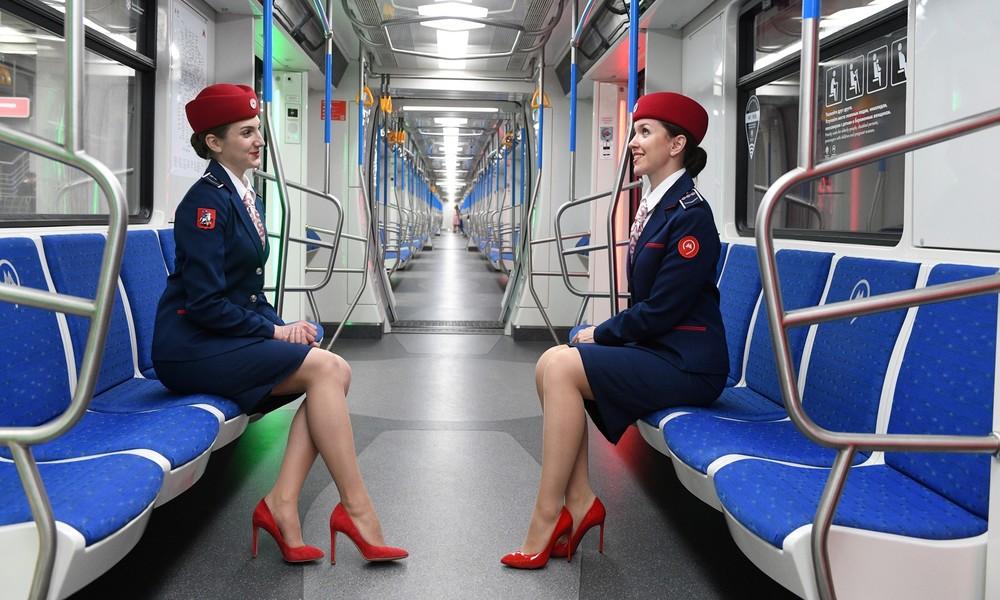 Berufsverbot fällt: Frauen können ab 2021 wieder als U-Bahn-Fahrerinnen in Moskau arbeiten