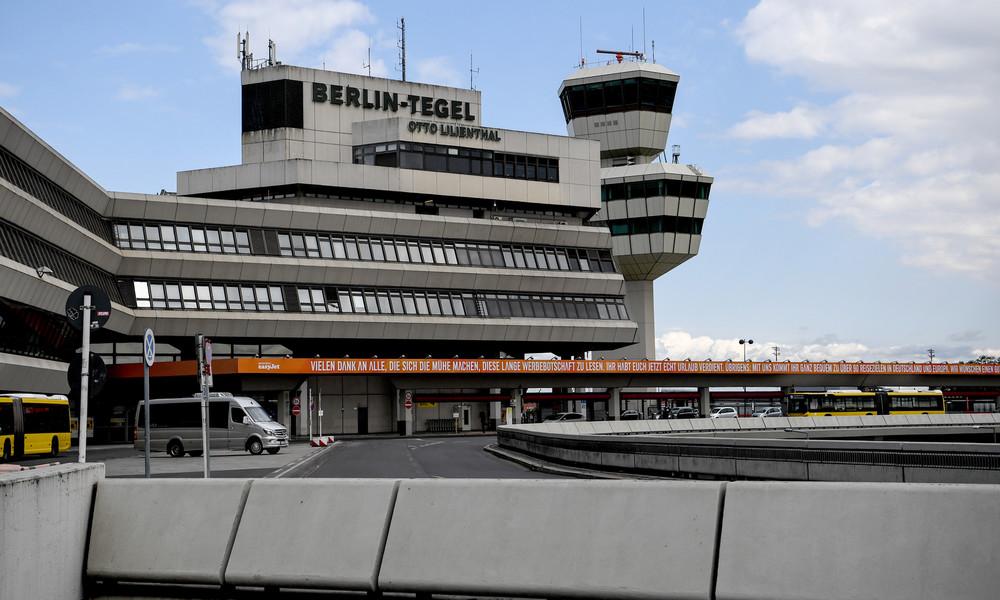 Berlin: Flughafen Tegel wird vorübergehend geschlossen
