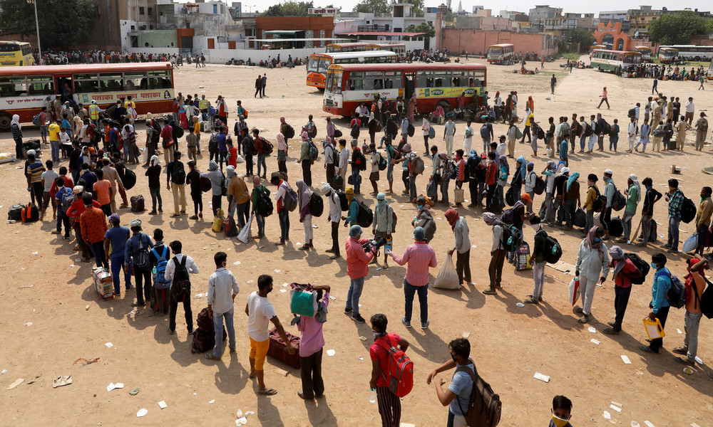 Indiens Arbeitslosenquote bleibt trotz schrittweiser Aufhebung der Corona-Maßnahmen hoch