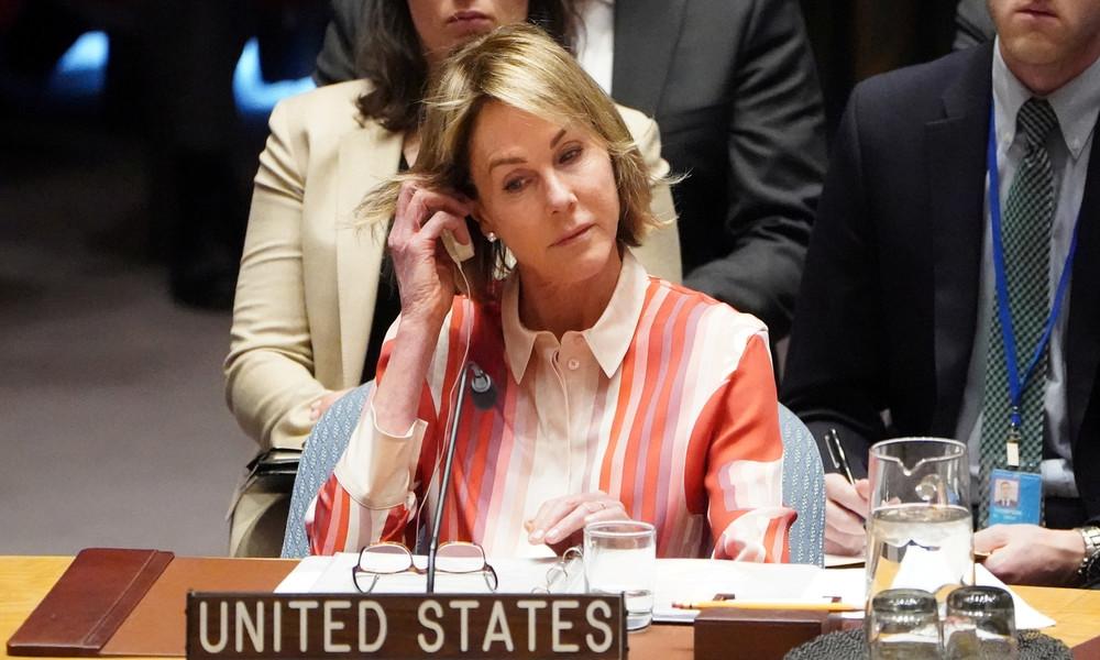 USA legen im UN-Sicherheitsrat Veto gegen russische Eingabe zur Krise in Venezuela ein