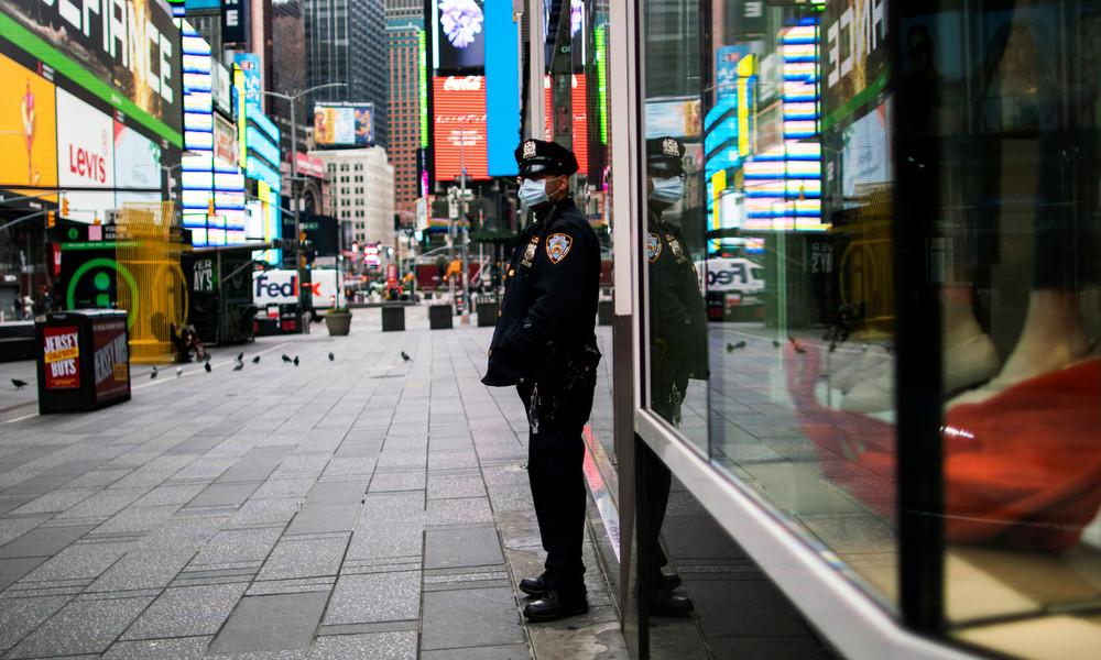 """""""Ein unermesslicher Verlust"""": New York Times ehrt Corona-Opfer mit ungewöhnlicher Titelseite"""