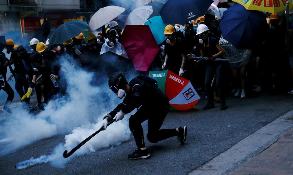 Neue Proteste in Hongkong – Polizei geht mit Tränengas vor