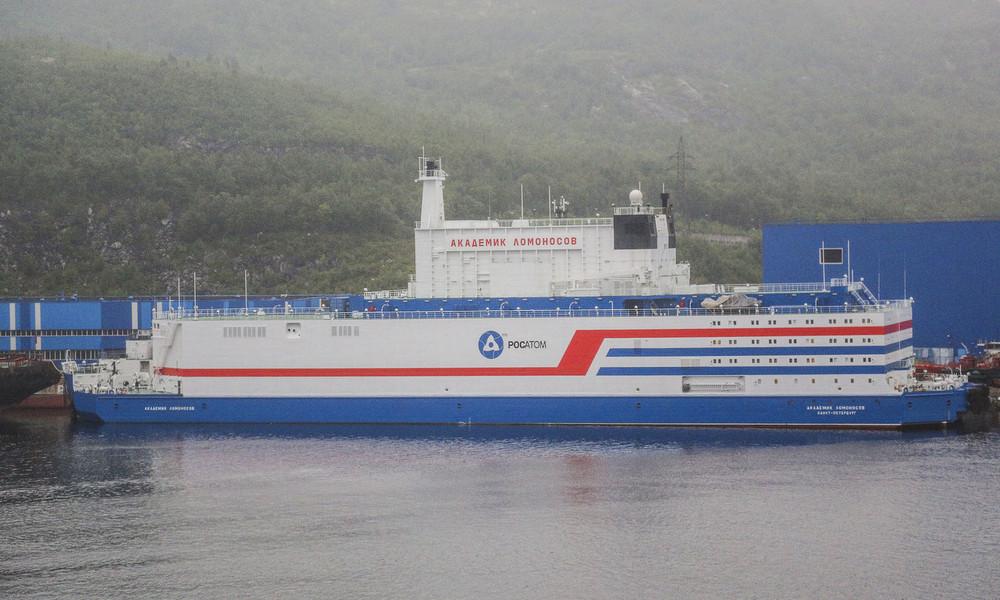 Russland: Erstes schwimmendes Atomkraftwerk der Welt geht in Betrieb