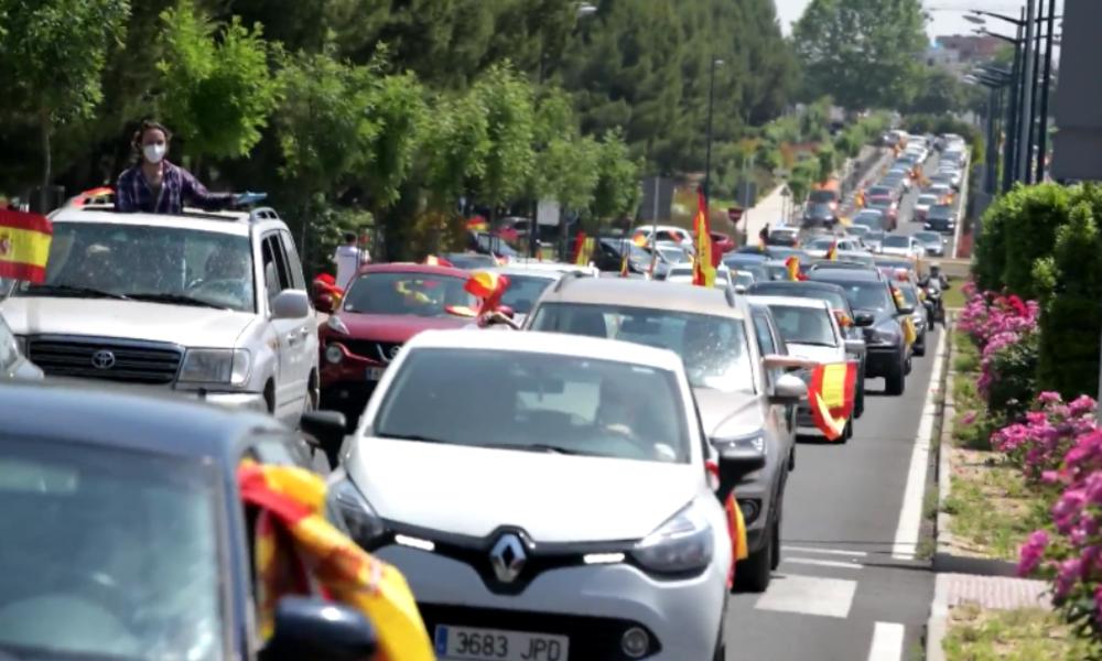 Spanien: Rechte mobilisieren im ganzen Land Proteste gegen Corona-Maßnahmen und Regierung