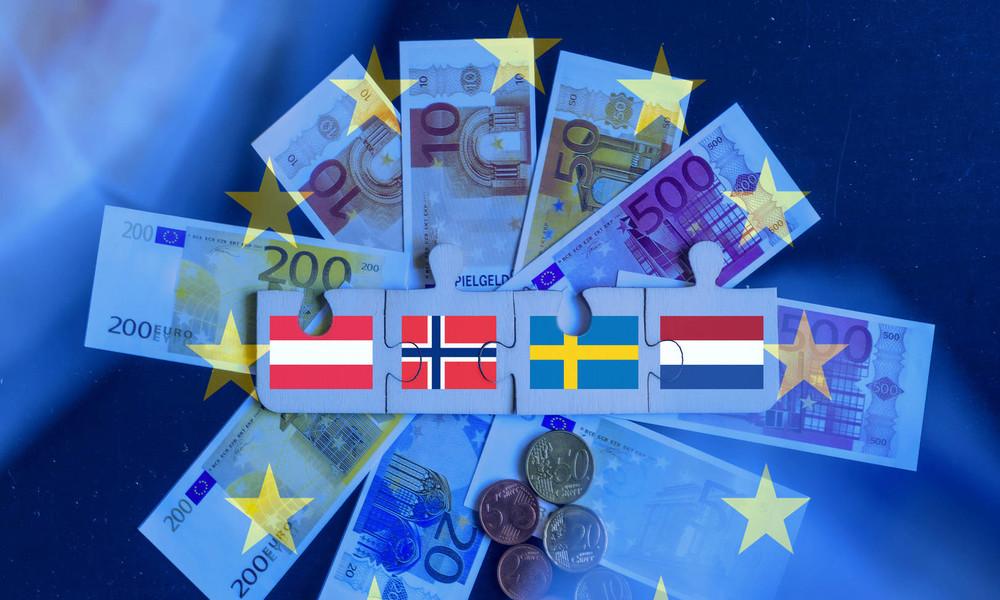 """Nein zur """"Schuldenunion"""": Die """"Sparsamen Vier"""" erteilen Merkel und Macron deutliche Abfuhr"""