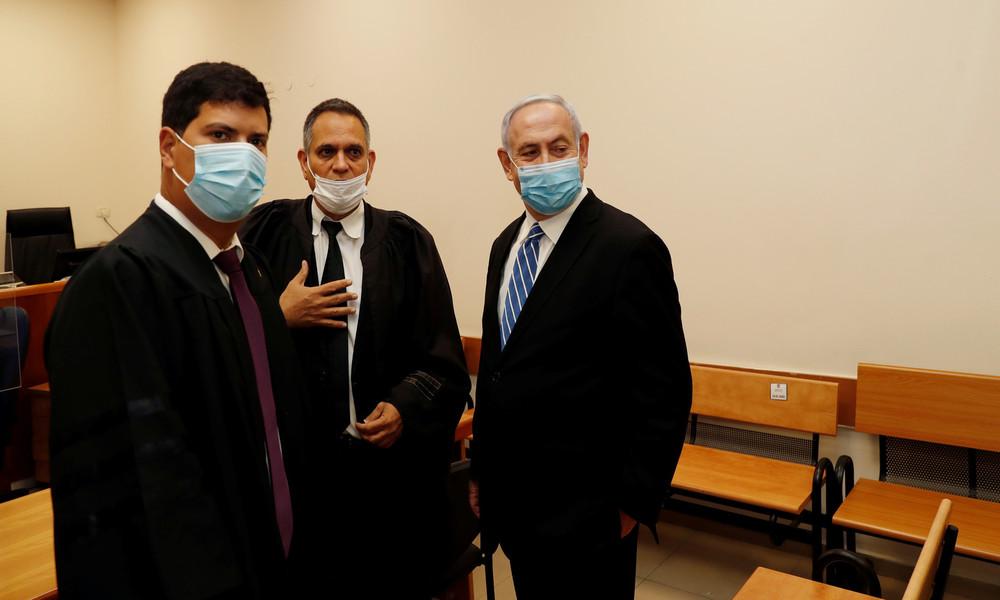 Als erster amtierender Ministerpräsident: Netanjahu steht in Israel vor Gericht