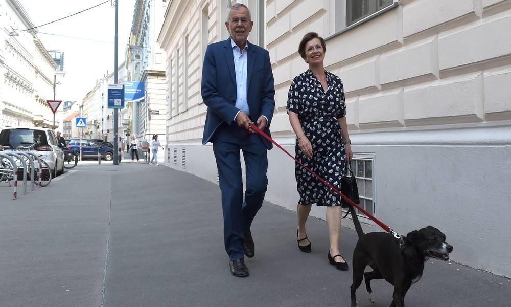 Wien: Österreichs Bundespräsident Van der Bellen nach Corona-Sperrstunde in einem Lokal erwischt