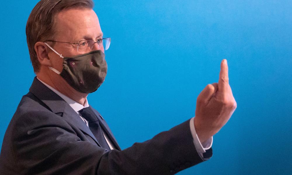 Alle gegen Thüringen? Kontroverse Debatte um Ramelows Öffnungskurs