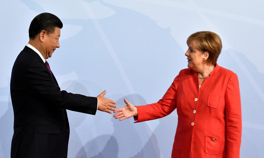 Umfrage: 36 Prozent der Deutschen finden enge Beziehungen zu China wichtiger als zu USA