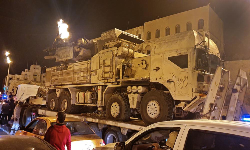 Libyen: USA werfen Russland vor, Kampfjets zur Luftunterstützung von Söldnern verlegt zu haben