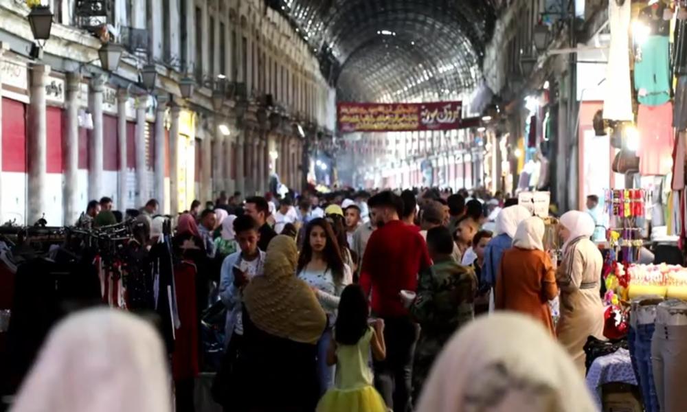 Syrien: Damaskus nach Aufhebung der nächtlichen Ausgangssperre wieder geschäftig