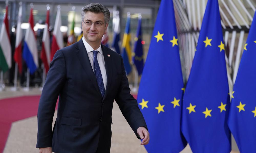 """Kroatiens Ministerpräsident zur Milliardenhilfe: """"Jetzt zeigt sich Bedeutung der EU-Mitgliedschaft"""""""