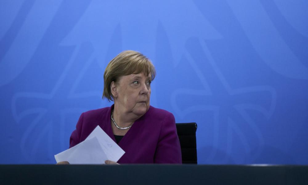 """""""Das Virus ist immer noch da"""" – Merkel mahnt zu Vorsicht trotz sinkender Infektionsrate"""