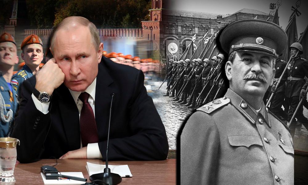 """""""Er ist sein Vorbild"""": Wie westliche Medien Putin zum neuen Stalin stilisieren"""
