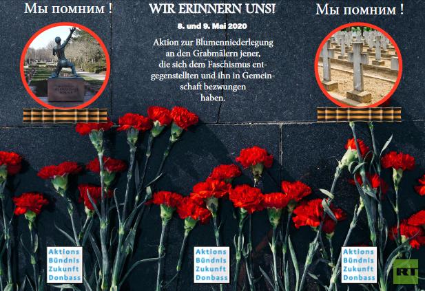 """""""Wir erinnern uns!"""": Flashmob zum Gedenken an Millionen sowjetischen Opfer des Faschismus gestartet"""
