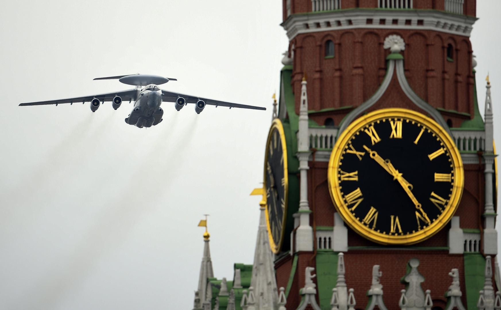 Ein A-50-Aufklärungsflugzeug bei der Flugschau in Moskau