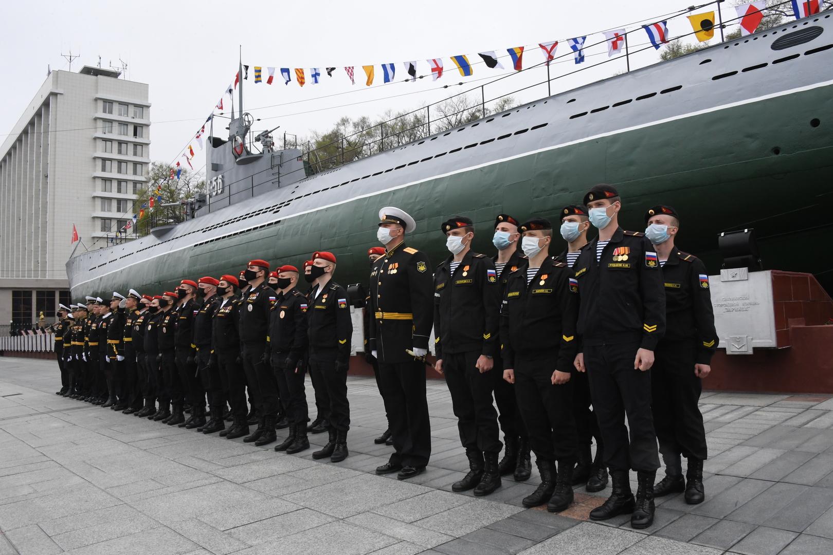 Feierlichkeiten am Tag des Sieges in Wladiwostok