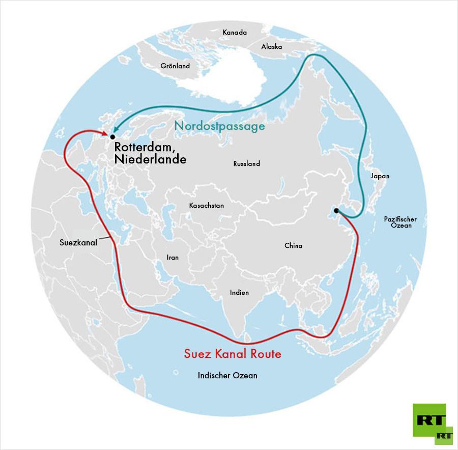 Dank Klimawandel: Frachtverkehr über Nordostpassage steigt weiter an