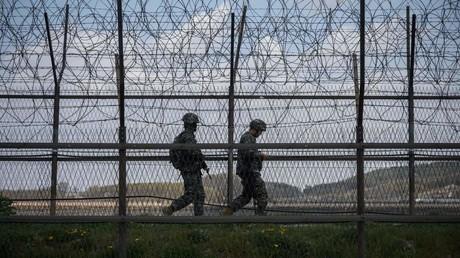 Schusswechsel in Grenzregion zwischen Nordkorea und Südkorea (Archivbild)