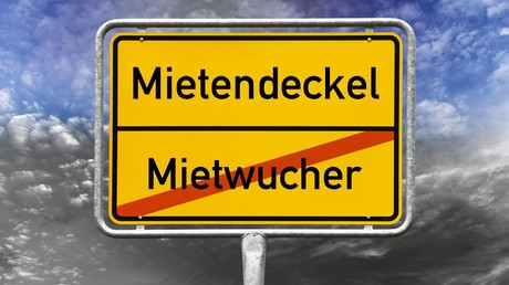 Schluss mit dem Mietwucher! Das hat der Berliner Senat beschlossen. (Fotomontage)
