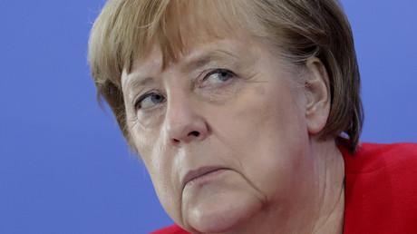Vertrauen? Klar! Widerspruch? Na ja ...: Merkel bei ihrer Pressekonferenz am Mittwoch