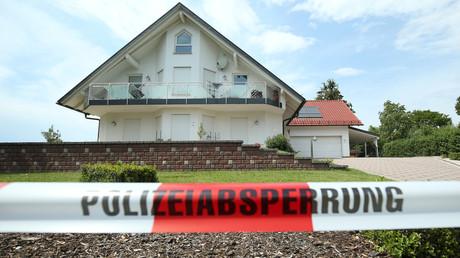 Blick auf das Haus des ermordeten Kasseler Regierungspräsidenten Walter Lübcke in Wolfhagen-Istha bei Kassel, Deutschland, 3. Juni 2019.