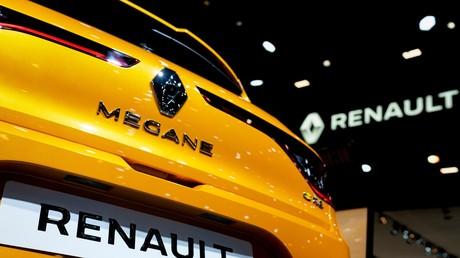 Ein Renault Megane auf der Brüsseler Automobilshow am 9. Januar 2020.