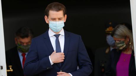 Ihm droht eine Strafanzeige: Österreichs Bundeskanzler Sebastian Kurz. (Wien, 27. April 2020)