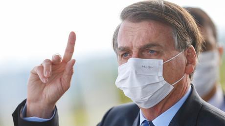 In Bedrängnis: Brasiliens Präsident Jair Bolsonaro