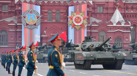Moskau: Wladimir Putin kündigt für den 24. Juni die Parade zum Jubiläumstag des Sieges an (Archivbild)